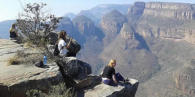 Day trips to the Blyde River Canyon